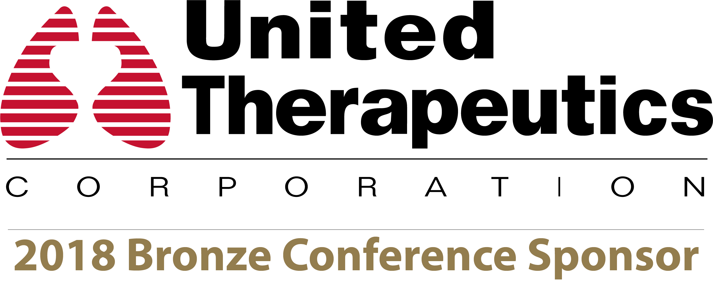 United Therapeutics 2018 Bronze Conference Sponsor