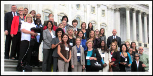 Advocates on Steps of Congress 2013