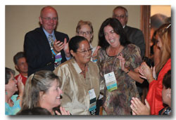 Having scleroderma didn't stop Texas Chapter President Cindi Brannum from being awarded Chapter Volunteer of the Year at the 2008 Scleroderma Foundation National Conference.